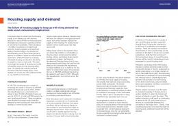 Housing supply and demand - Parliament.uk