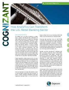 Understanding Failed Core Banking Projects - Cognizant