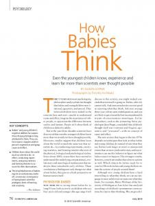 How Babies Think