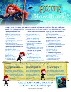 How Brave Are You? How Brave Are You?