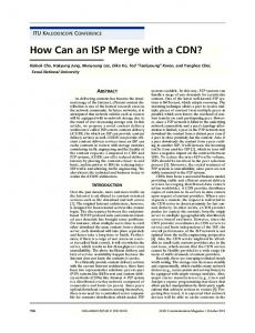 How can an ISP merge with a CDN? - IEEE Xplore