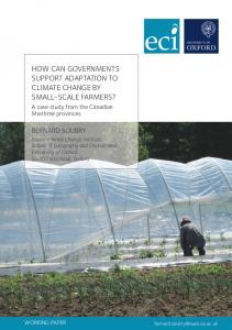 How Can Governments Support Adaptation to Climate Change by ...