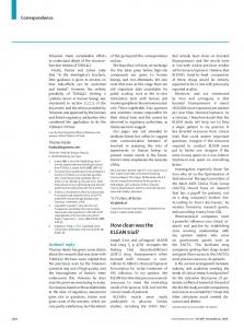 How clean was the KLEAN trial? - The Lancet