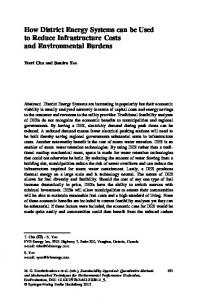 How District Energy Systems can be Used to Reduce ... - Springer Link
