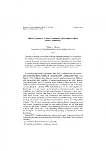 How do Elementary Teachers Compensate for Incomplete Science ...