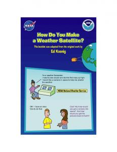 How Do You Make a Weather Satellite?