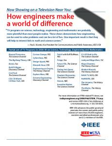 How engineers make a world of difference - IEEE-USA
