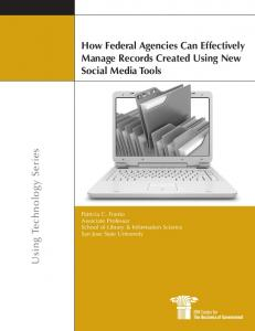 How Federal Agencies Can Effectively Manage Records ... - Bulletin