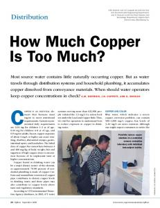 How Much Copper Is Too Much?