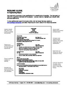How to Build a Better Resume