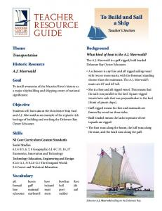 How to Build and Sail a Ship
