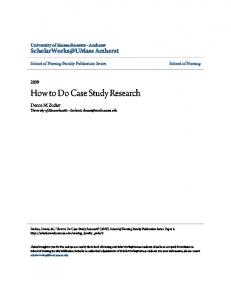 How to Do Case Study Research