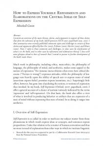 How to Express Yourself: Refinements and ... - ProtoSociology