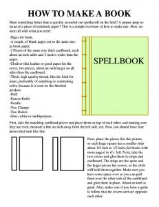 HOW TO MAKE A BOOK SPELLBOOK - AlonaTwoTrees.com