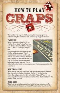 'How To' on Craps - Clearwater Casino