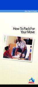 How To Pack - Hopkins & Sons