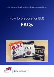 How to prepare for IELTS - FAQs