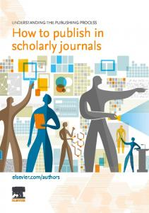 How to publish in scholarly journals - Elsevier