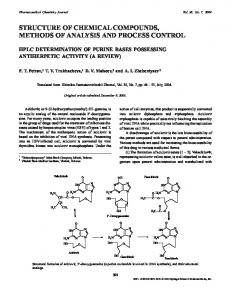 HPLC Determination of Purine Bases Possessing ... - Springer Link