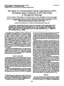 (HPV) Genotyping Assay - Journal of Clinical Microbiology - American ...