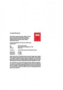 (HSA) or bovine (BSA) serum albumin evaluated by