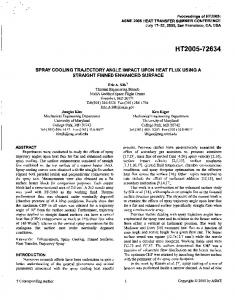 HT2005-72634 - NASA Technical Reports Server (NTRS)