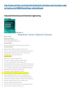 http://www.springer.com/chemistry/industrial+chemistry+and+chemical ...