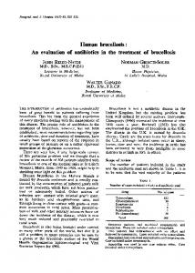 Human brucellosis - Europe PMC