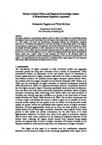 Human Capital Flows and Regional Knowledge Assets: A ...