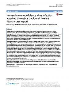 Human immunodeficiency virus infection acquired