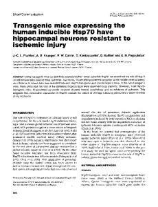 human inducible HspYO have - NCBI - NIH