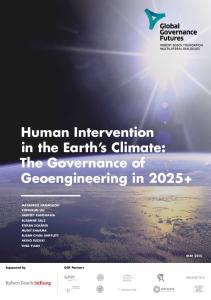 Human Intervention in the Earth's Climate: The ... - Robert Bosch Stiftung