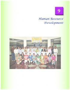 Human Resource Development - National Geophysical Research ...