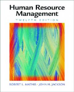 Human Resources Management, 12th ed