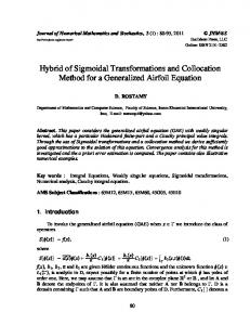 Hybrid of Sigmoidal Transformations and Collocation Method for a