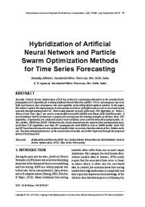 Hybridization of Artificial Neural Network and ... - Semantic Scholar
