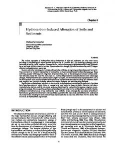 Hydrocarbon-Induced Alteration of Soils and Sediments