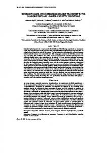 hydrodynamics and suspended sediment transport in the ...