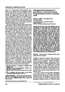 Hydrogeochemical assessment of groundwater in ... - Current Science