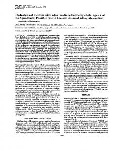 Hydrolysis of nicotinamide adenine dinucleotide ... - Semantic Scholar
