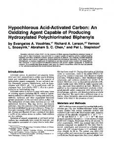 Hydroxylated Polychiorinated Biphenyls - Semantic Scholar