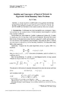 Hyperbolic Initial-Boundary Value Problems - American Mathematical
