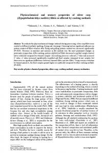 Hypophthalmichthys molitrix - International Food Research Journal