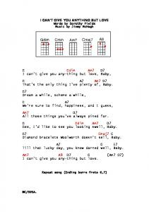 I can't give you anything but love baby. (.pdf) - UKuke