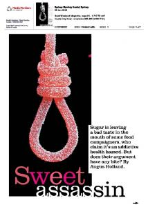 I Quit Sugar in Sydney Morning Herald on 26 ... - Sarah Wilson