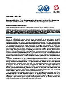 Drilling fluid engineering mafiadoc iadcspe 178877 ms automated drilling fluid fandeluxe Image collections