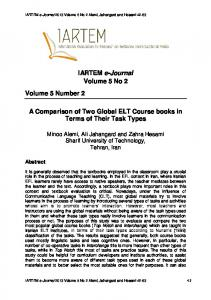 IARTEM e-Journal Volume 5 No 2 Volume 5 Number 2 A Comparison ...