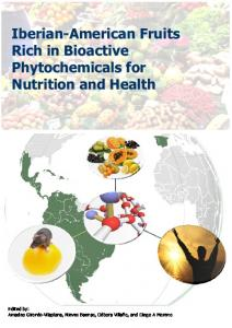 Iberian-American Fruits Rich in Bioactive Phytochemicals for Nutrition
