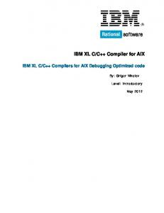 IBM XL C/C++ Compiler for AIX