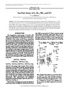 IBr, and ICl - Springer Link